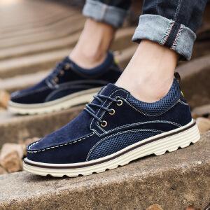回力男鞋夏季韩版透气低帮工装商务鞋休闲运动板鞋上海回力鞋子男