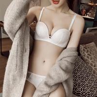 2018舒适 性感蕾丝内衣无钢圈舒适1/2杯文胸聚拢小胸夏加厚胸罩