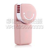 手持式USB电池两用无叶小风扇 空调扇 口袋便携式迷你风扇  学生宿舍手持电风扇