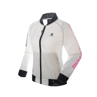 KELME卡尔美 K16R3007 女式跑步风衣 速干运动外套 薄款修身透气防风衣