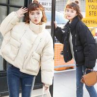 短款女冬季新款潮韩版宽松百搭学生加厚小棉袄面包服外套
