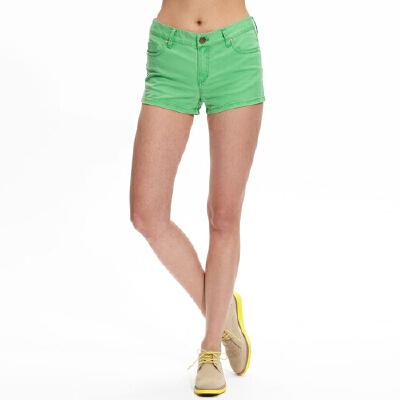 【美邦超级品牌日,全场1件3折,5件2.8折】美特斯邦威女装多色休闲短裤2517856月27日,前2小时买满5件即享2.8折价:8.12