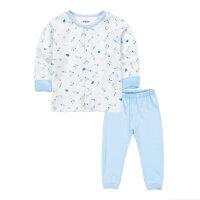 乐友歌瑞家婴儿内衣春季新款宝宝衣服纯棉对襟套装
