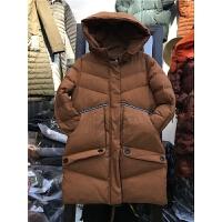 I1韩版 女冬季外套棉袄学生面包服 羽绒棉衣女 中长款0.9