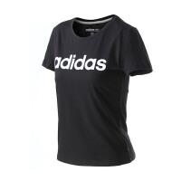 adidas阿迪达斯NEO女装短袖T恤2017年新款运动服BP6340
