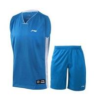 李宁篮球服 AATK047 篮球系列男子比赛套装 男子CBA篮球比赛服