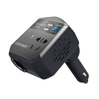 车载逆变器12V/24V转220V通用电源转换器带USB充电器变压器插座