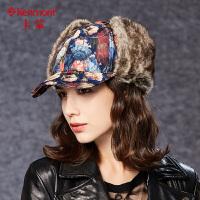 冬天帽子女士冬季棉帽可调节护耳棒球帽卡蒙骑行帽加厚东北帽冬帽2512