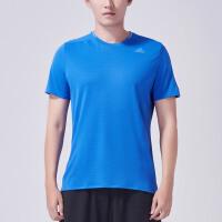 adidas阿迪达斯男装短袖T恤2018年新款跑步运动服S94379