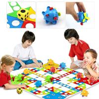 飞行棋 地毯式儿童玩具宝宝爬行垫益智大号子互动游戏棋桌游