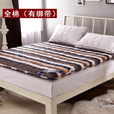 全棉榻榻米折叠海绵软床垫被加厚床褥子单双人1.5m1.8米1.2经济型