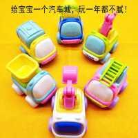 卡通回力小玩具车小汽车套装各类工程队耐摔78910十个月一岁宝宝