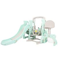 儿童小型滑滑梯秋千组合幼儿园三合一室内游乐场宝宝家庭玩具家用
