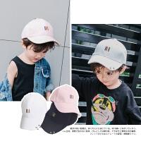 宝宝鸭舌帽子春秋韩版男童儿童2-12岁男女棒球帽婴儿休闲棒球帽潮