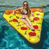 床水上充气玩具游泳圈加大多人娱乐加厚泳池充气浮床浮排