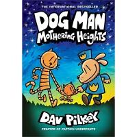 【首页抢券300-100】Dog Man 10 Mothering Heights 第十册神探狗狗的冒险 全彩儿童漫画桥
