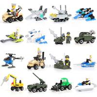 拼插迷你拼装组装积木益智小玩具男孩坦克儿童幼儿园礼物4-6-8岁