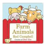 Farm Animals Board Book农场的动物 英文儿童认知启蒙绘本