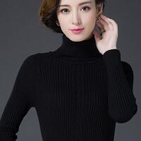 2017冬季新款套头高领毛衣女修身加厚羊绒针织衫长袖打底衫羊毛衫
