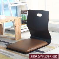 靠背椅榻榻米日式床上座椅一体单人电脑飘窗椅子懒人凳子坐垫 整装