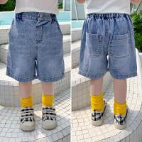 儿童牛仔短裤外穿童装男童夏季裤子五分裤夏装休闲裤