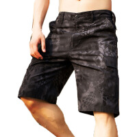 迷彩短裤夏季户外运动短裤男式五分裤多口袋工装训练迷彩裤