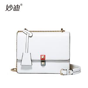 手提包女韩版2017新款个性时尚创意斜挎包夏天小包包白色单肩包潮