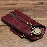 原创女式钥匙包门禁卡零钱包男士汽车遥控器锁匙包大容量刻字