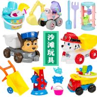 儿童沙滩玩具套装组合沙漏铲子桶和大小号推车男女孩玩沙工具