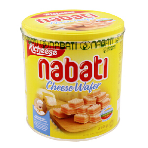 印尼进口 丽芝士 Richeese 纳宝帝奶酪威化饼干 350g(团购更优惠 电话:010-57993483)