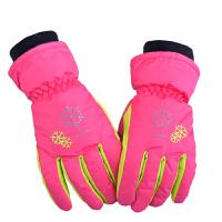 小龄儿童滑雪手套 保暖手套 防风 滑雪手套 玩雪手套N7849 X