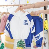 儿童运动套装男童宝宝两件套衣服童装1-3周岁潮