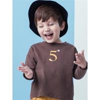 男童长袖T恤3女童打底衫2岁宝宝春装6春秋4童装纯棉5儿童小衫