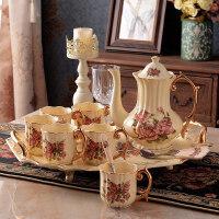 水杯套装英式下午茶茶具套装茶杯陶瓷杯子家用咖啡杯套装欧式杯具