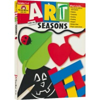 Evan-Moor Crafts & Art Art for All Seasons Grade 1-4 艺术创造启蒙系