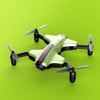 可折叠遥控飞机FPV航拍四轴飞行器耐摔充电动变形无人机