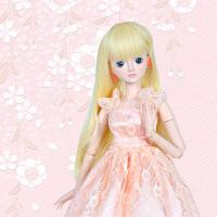 叶罗丽娃娃衣服公主裙60CM夜萝莉改妆换装礼服叶萝莉bjd女孩玩具