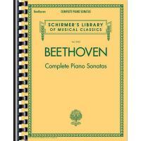 【预订】Beethoven - Complete Piano Sonatas: Schirmer's Library
