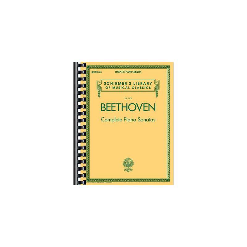 【预订】Beethoven - Complete Piano Sonatas: Schirmer's Library of Musical Classics Vol. 2103 预订商品,需要1-3个月发货,非质量问题不接受退换货。