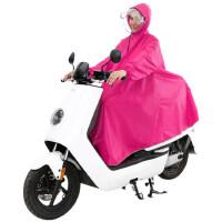 非洲豹雨衣电动车有袖成人男女单人加大加厚电瓶摩托车双帽檐雨披