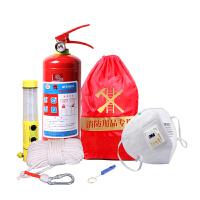 车载灭火器安全锤手电消防检查消防应急包套装1KG套装