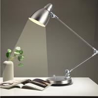 创意长臂折叠商务金属台灯工作办公学习阅读床头卧室书房LED调光 其他