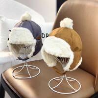 儿童帽子毛线帽男童冬天女童可爱秋冬季婴儿时尚潮