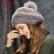 卡蒙毛线帽子女秋冬甜美可爱贝雷帽日系卷边南瓜帽韩版毛球画家帽 9198