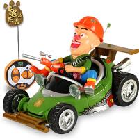 熊出没特技车玩具遥控汽车 熊出没玩具套装翻转翻斗车