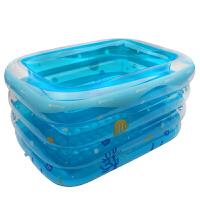 YT213加大加厚保温型四环长方婴儿充气游泳池9件套-88014 儿童游泳池设备
