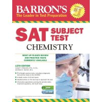 Barron's SAT Subject Test, Chemistry with CD 12th Revised Edition    ISBN:9781438074511