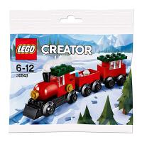 【当当自营】LEGO乐高 拼砌包-圣诞小火车 30543