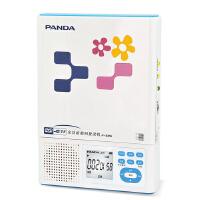 熊猫 F-385DVD CD复读机 随身听插卡充电锂电池MP3复读机 英语四六级 复读机 USB复读机
