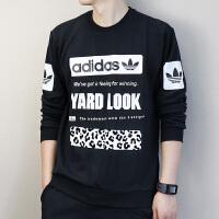 Adidas阿迪达斯 三叶草 男子 运动卫衣 休闲针织套头衫CD1717